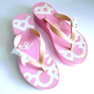 BCBG Pink Women's Flip- Flops